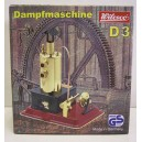 WILESCO D3 NEW TOY STEAM ENGINE WITH BRASS BOILER
