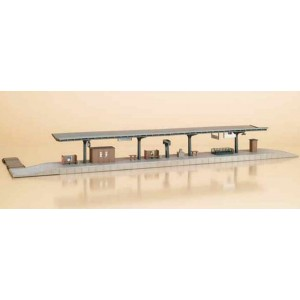 11376 Auhagen HO Kit of a Station Platform