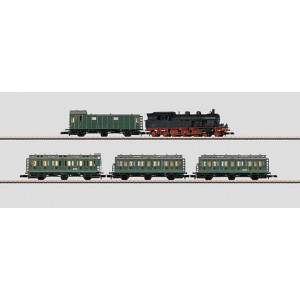 81191 MARKLIN Z Commuter Service Train Set with CL 78 DB