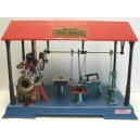 FREE SHIPPING: WILESCO D141 NEW TOY STEAM ENGINE WORKSHOP