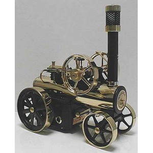 WILESCO D430 NEW BRASS BLACK STEAM LOCOMOBILE