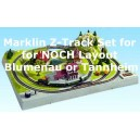 Track-Set for NOCH Z Scale Layout Blumenau and Tannheim