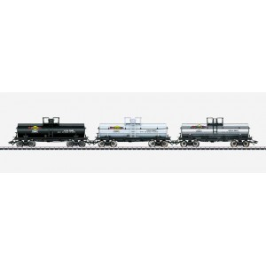 45656 Marklin HO US Set with 3 Tank Cars