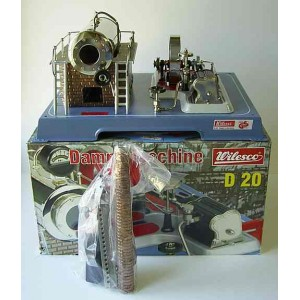 WILESCO D20 NEW TOY STEAM ENGINE