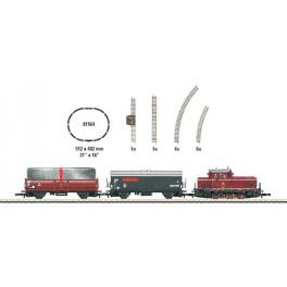 81564 MARKLIN Z Starter Set with Diesel Loco