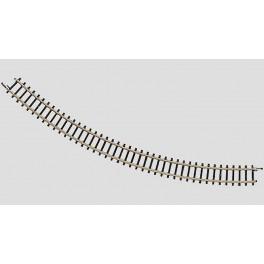 "8520 MARKLIN Z Curved Track Radius 195 mm / 7-11/16"". 45°"