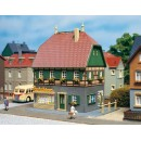 12347 Auhagen HO Kit of a House with shop