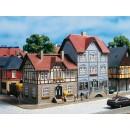 12346 Auhagen HO Kit of houses Station Street 9/11
