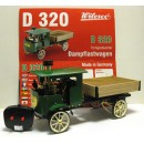 WILESCO D396 RC BRASS/BLACK STEAM ROLLER