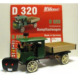 WILESCO D320 Remote Controlled Steam Driven Lorry