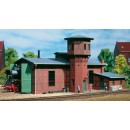 11400 Auhagen HO Kit of a Locomotive shed with water tower