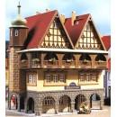 12348 Auhagen HO Kit of Burgerhaus Hotel