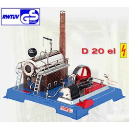 WILESCO D202 ELECTRIC HEATED TOY STEAM ENGINE