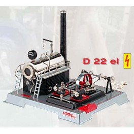 WILESCO D222 NEW ELECTRIC HEATED TOY STEAM ENGINE