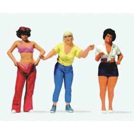 Preiser 44902 1:22.5 G Scale LGB Gauge Women at the camp site