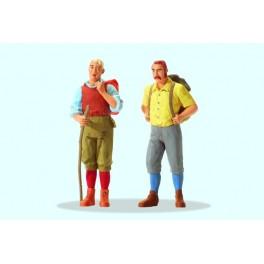 Preiser 44903 1:22.5 G Scale LGB Wanderers Standing