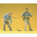 Preiser 45023 1:22.5 G Scale LGB Gauge Construction workers
