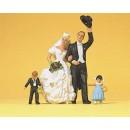 Preiser 45041 1:22.5 G Scale LGB Gauge Bride and Bridegroom