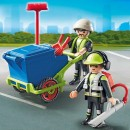 PLAYMOBIL® 6112 Street Cleaner - S&H FREE