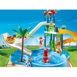 PLAYMOBIL® 6669 Water Park with Slides - S&H FREE