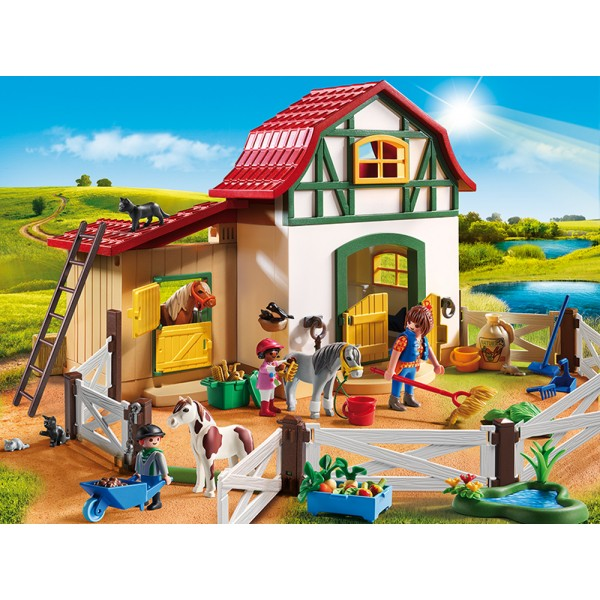 playmobil 6927 pony farm sh free