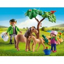 PLAYMOBIL® 6949 Vet with Pony and Foal - S&H FREE