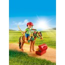 PLAYMOBIL® 6968 Groomer with Bloom Pony - S&H FREE