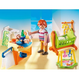 PLAYMOBIL® 5304 Baby Room with Cradle - S&H FREE