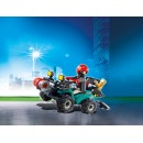 PLAYMOBIL® 6879 Crooks Quad with winch - S&H FREE