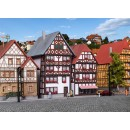 36404 Kibri Z Gauge Half-timbered houses Fritzlar, 2 pieces