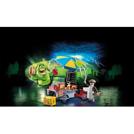 PLAYMOBIL® 9222 Slimer with Hot Dog Stand