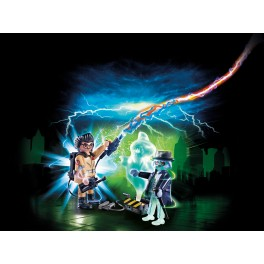 PLAYMOBIL® 9224 Spengler and Ghost