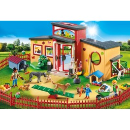 "PLAYMOBIL® 9275 Animal Hotel ""Smal Paw"" - NEW 2018 - S&H FREE WORLDWIDE"