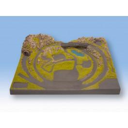 NOCH 87010 Z Scale Layout Serfaus 54 x 41 x 12 cm