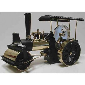 WILESCO D366 BRASS/BLACK STEAM ROLLER