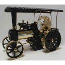 FREE SHIPPING: WILESCO D406 BRASS/BLACK STEAM TRACTOR