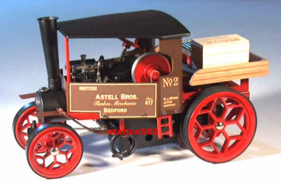 Wilesco Mobil Steam Engines
