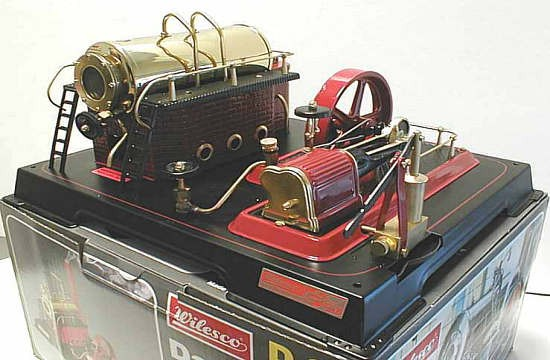 Wilesco Stationary Steam Engines